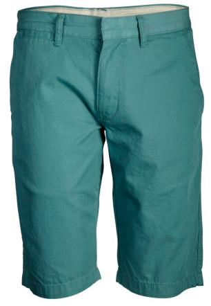 Groenblauwe shorts van Knowledge Cotton Apparel