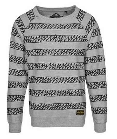 Bastard FAST   Sweater   Grijs   Zalando.nl