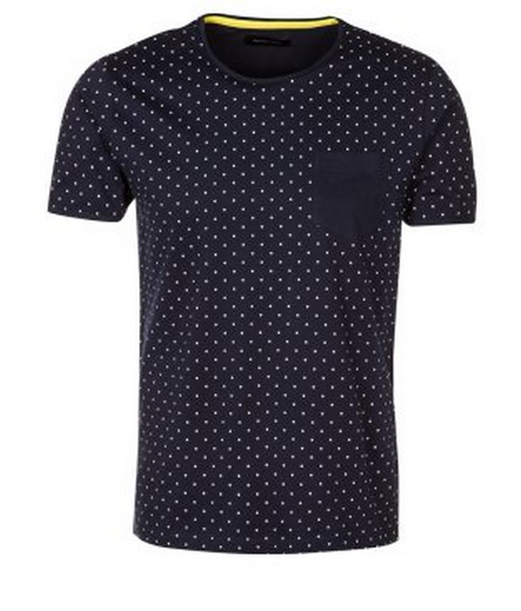 Selected Homme DANNY   T shirt basic   Blauw   Zalando.nl