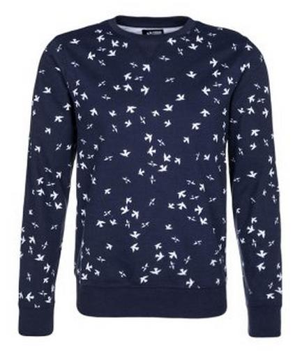 sweater blauw van your turn via zalando