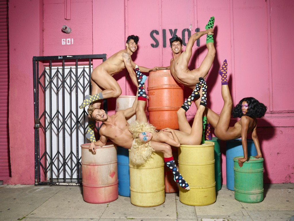 Happy Socks x David LaChapelle 1