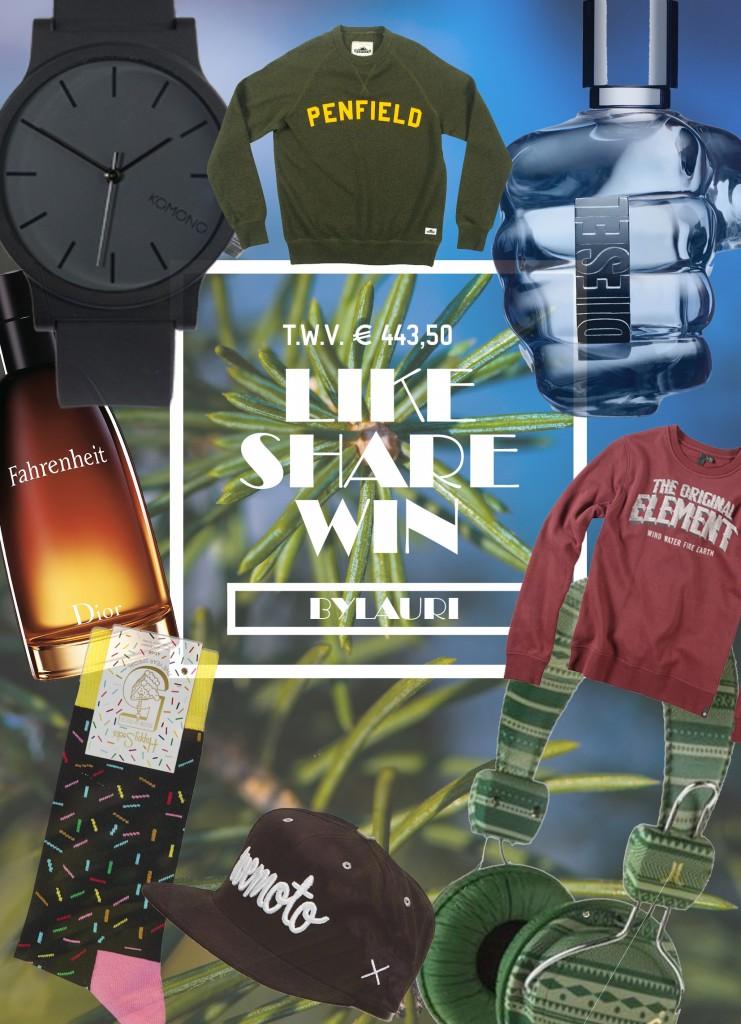 kerstpakket winnen bylauri.com