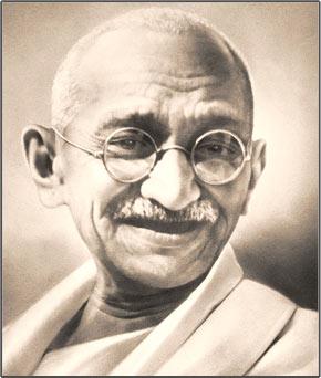 Mahatma Ghandi ronde bril