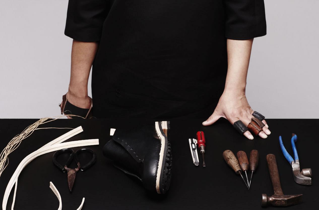 Feit handgemaakte sneakers