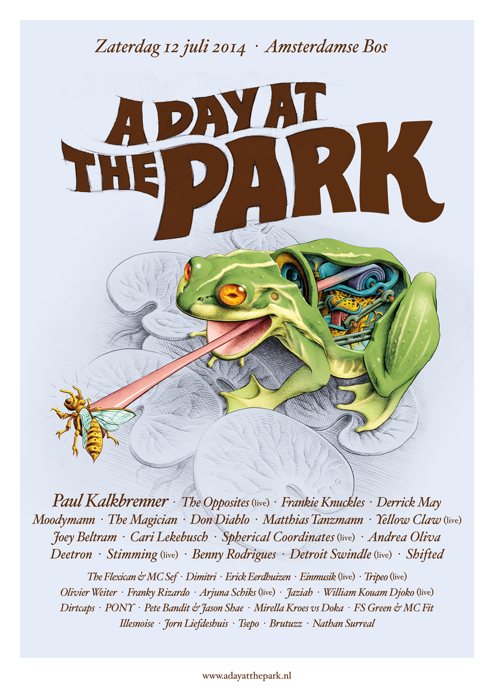 A Day At The Park 2012 line-up
