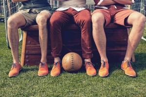 Oranje kleding wk-schoen Manfield