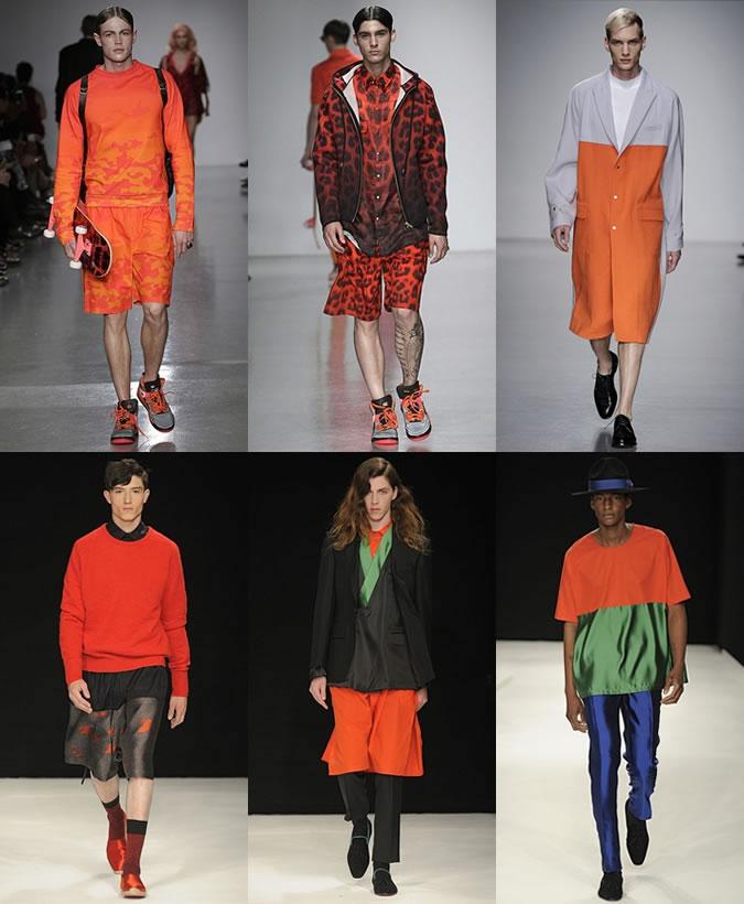 Oranje op de catwalk ss14