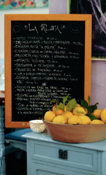 la paloma ibiza menu